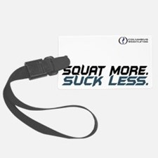 Squat More. Suck Less Luggage Tag