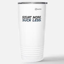 Squat More. Suck Less Thermos Mug