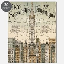 Skyscrapers Of Philadelphia Puzzle