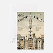 Skyscrapers Of Philadelphia Greeting Card