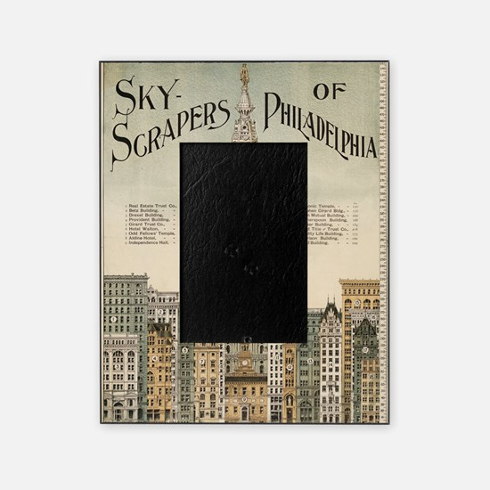Skyscrapers Of Philadelphia Picture Frame