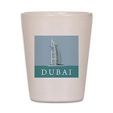 Dubai Burj Al Arab Shot Glass