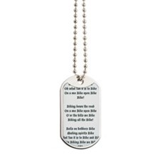 Jingle-bike Dog Tags