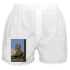 Barcelona Sagrada Familia Boxer Shorts