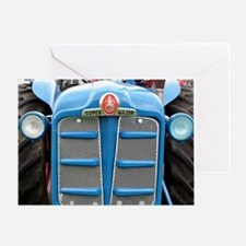 Fordson Super Major Tractor Greeting Card