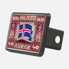 1930 Iceland Flag Postage  Hitch Cover