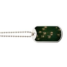 Hippopotamuses in water Dog Tags