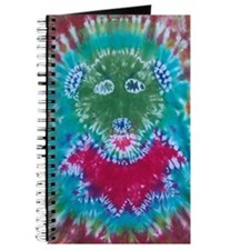 Tie Dyed Jerry Bear Journal