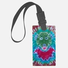 Tie Dyed Jerry Bear Luggage Tag