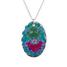 Tie Dyed Jerry Bear Necklace