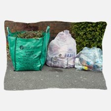 Household waste recycling Pillow Case