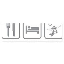 EatSleepSkydive1C Bumper Sticker