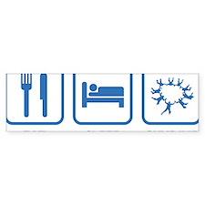 EatSleepSkydive2C Bumper Sticker