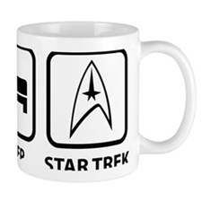 EatSleepStarTrek1A Mug