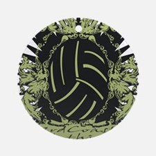 3rd Coast Volleyball Round Ornament