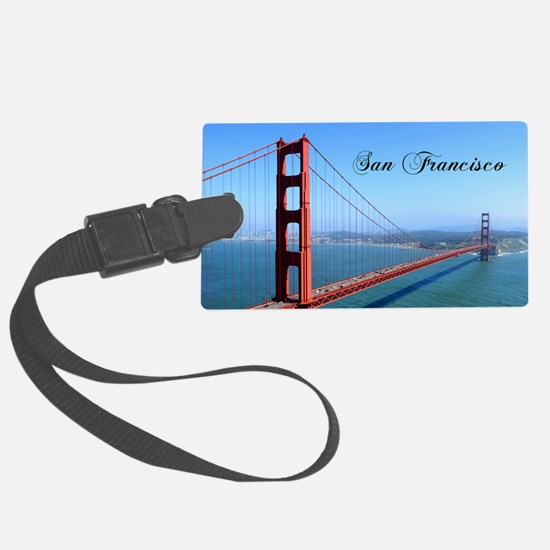 SF_10X8_GoldenGateBridge Luggage Tag