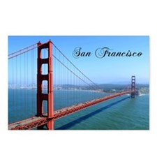 SF_10X8_GoldenGateBridge Postcards (Package of 8)