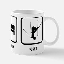 EatSleepSki1A Small Small Mug