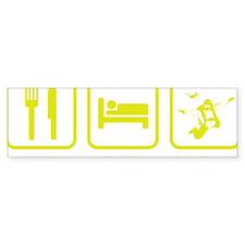 EatSleepSkydive1E Bumper Sticker