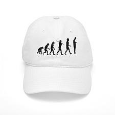 Evolution of man texting 1 Baseball Cap