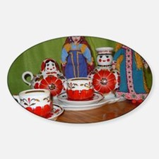 Russian Doll Tea Time Decal