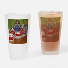 Russian Doll Tea Time Drinking Glass