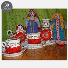 Russian Doll Tea Time Puzzle