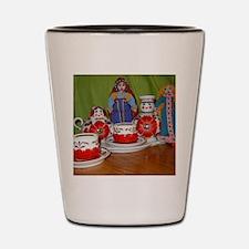 Russian Doll Tea Time Shot Glass