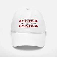 Barbershop Baseball Baseball Cap