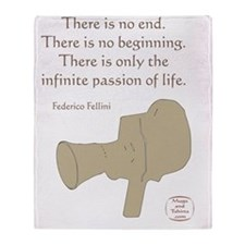 THE INFINITE PASSION OF LIFE Throw Blanket