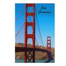 SF_5.5x8.5_Journal_Golden Postcards (Package of 8)