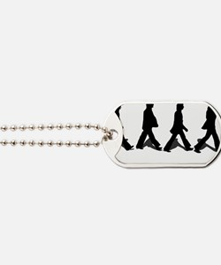 Zebra Crossing Dog Tags