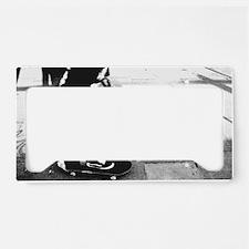 skater License Plate Holder