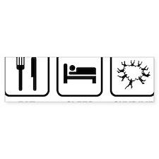 EatSleepSkydive2A Bumper Sticker