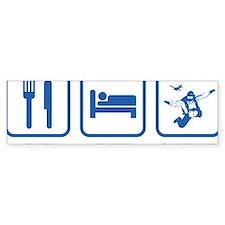 EatSleepSkydive1D Bumper Sticker