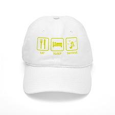 EatSleepSkydive1E Baseball Cap