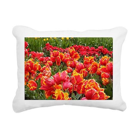 Tulips 2 Rectangular Canvas Pillow