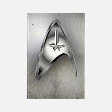 Star Trek Steel Rectangle Magnet