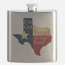 Ive Got Texas in my Soul Flask