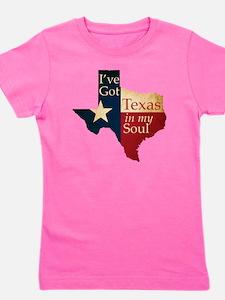 Ive Got Texas in my Soul Girl's Tee