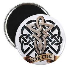 viking knot tribal celtic sword axe Magnet