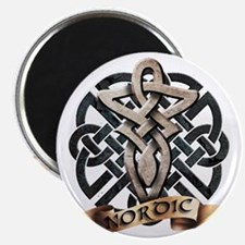 viking knot tribal celtic sword axe Magnet