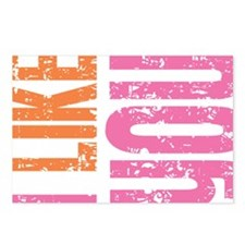 I Like You (pink) Postcards (Package of 8)