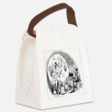 Microbiology caricature, 19th cen Canvas Lunch Bag