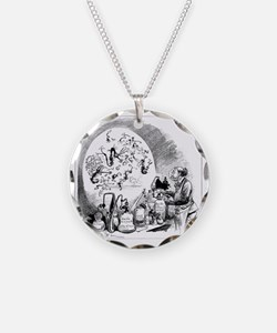 Microbiology caricature, 19t Necklace
