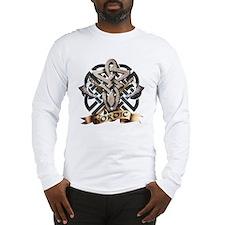 viking knot tribal celtic swor Long Sleeve T-Shirt