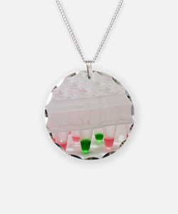 Multiwell sample tray Necklace
