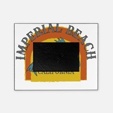 Imperial Beach Sunset Fish Picture Frame