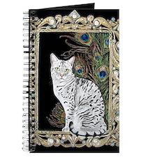 Silver Egyptian Mau Journal