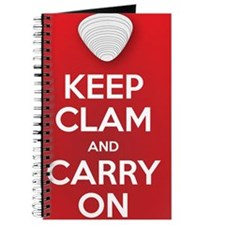 Keep Clam and Carry On Journal